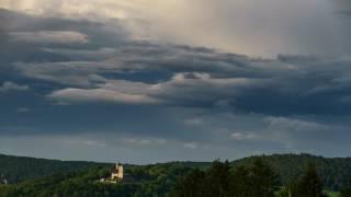 "Timelaps ""Wolkenspiele über der Kugelsburg"""