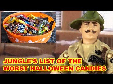 World's Worst Halloween Candy