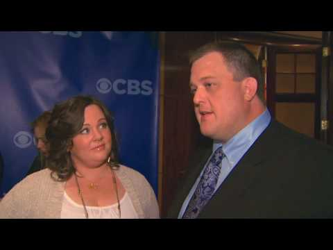 Mike and Molly - Billy Gardell and Melissa McCarthy Interview