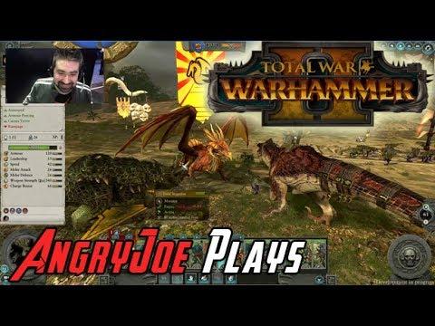 AngryJoe Plays TW: Warhammer 2! @E3 2017 (видео)
