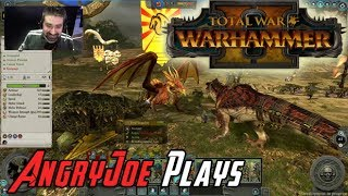 AngryJoe Plays The LIzardmen against the High Elves in this E3 2017 Demo of Total War: Warhammer II! It's really shaping up ...