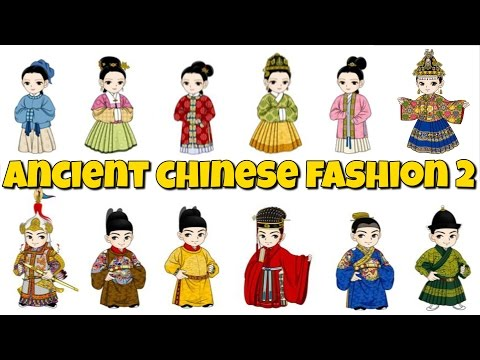 Fashion - Need some fashion inspiration? How about taking some tips from the ancient Chinese? Here's a look at traditional Chinese clothing styles through the dynasties...part 2 Facebook: https://www.fa...