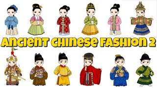 Chinese Fashion Through the Dynasties Part 2