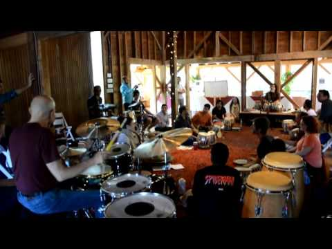 Steve Smith with Zakir Hussain with Jack DeJohnette