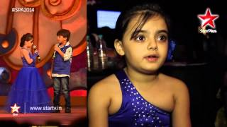 Little Ruhi is excited and nervous to be at Star Parivaar Awards 2014!