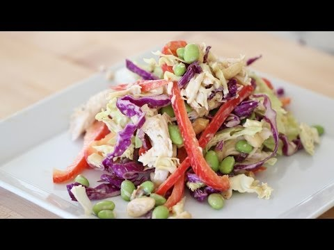 Beth's Chinese Chicken Salad (HEALTHY RECIPE SERIES!)