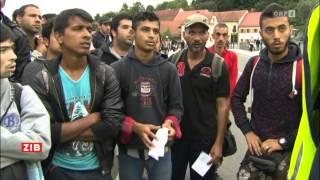 Bad Radkersburg Austria  City pictures : Österreich: Vier Polizisten probieren hunderte Migranten zu stoppen