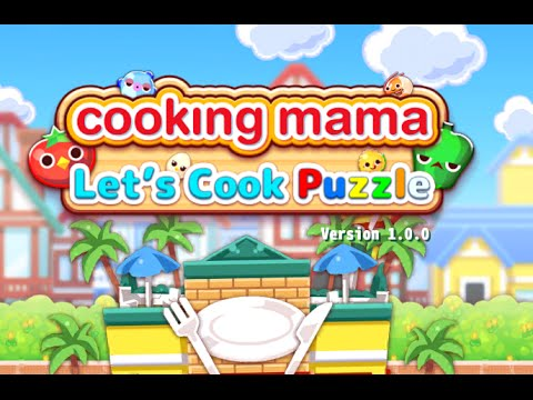 COOKING MAMA LET'S COOK PUZZLE Gameplay IOS / Android