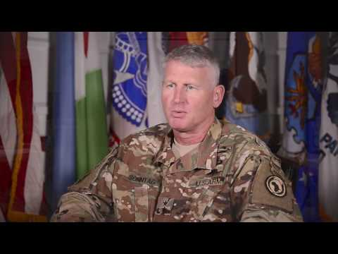 Major Gen. Kurt Sonntag, commanding general of Combined Joint Task Force-Horn of Africa reflects on accomplishments of CJTF-HOA service members over the last year. A change of command is scheduled to take place April 28, 2017 at Camp Lemonnier Djibouti.
