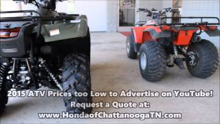 10. Vintage / Old Honda ATV VS New / 2015 Foreman Rubicon 500 : Honda of Chattanooga TN PowerSports