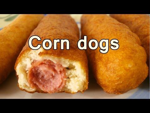squisiti corn dogs - ricetta facile e veloce