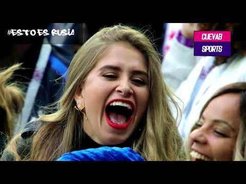 Las mejores postales del partido  Francia vs Diablos rojos de bélgica