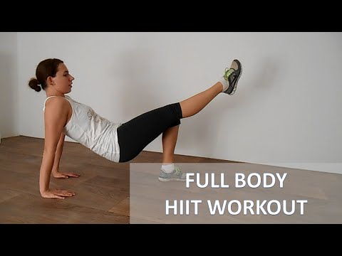20 Minute Intense Full Body HIIT Workout For Fat Loss – Burn Calories At Home With No Equipment