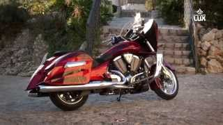 8. VICTORY CROSS COUNTRY NESS TEST - Luxurious Motorcycle