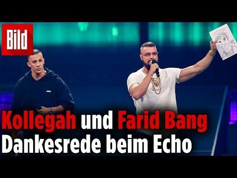 Echo: Farid Bang und Kollegah werden ausgebuht