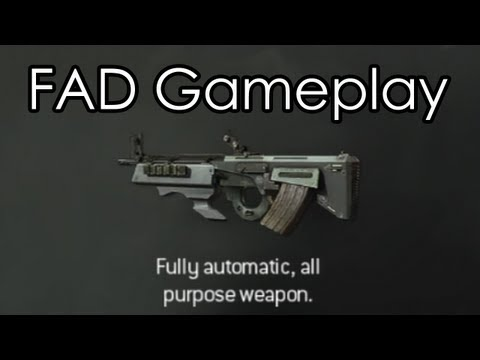 fad - MW3 FAD Assault Rifle multiplayer gameplay! :) Follow me on Twitter: http://www.twitter.com/OMGitsAliA Thanks for watching! ---