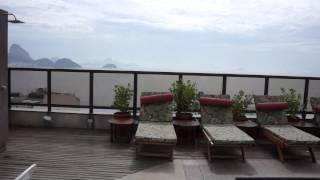 Copacabana Rio Hotel.Nice ,good located hotel with stunning view from roof for copocabana beach.Beautiful view from gym.