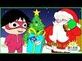 Ryan Helps Santa delivering presents | Christmas Cartoon Animation for Children