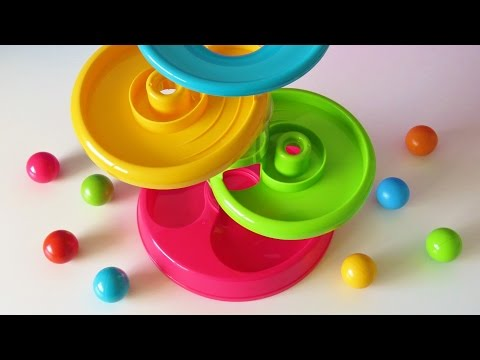 Tower ball baby toy learning video learn colors numbers for babies toddlers preschoolers