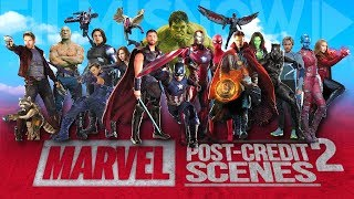 Video All The Marvel Cinematic Post-Credits Scenes Compilation (2008-2018) Vol.2 MP3, 3GP, MP4, WEBM, AVI, FLV Maret 2019