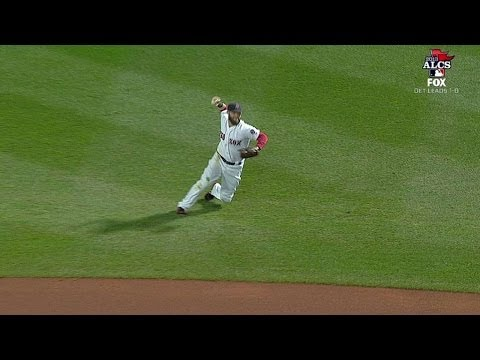 Video: Pedroia's sparkling play retires Jackson