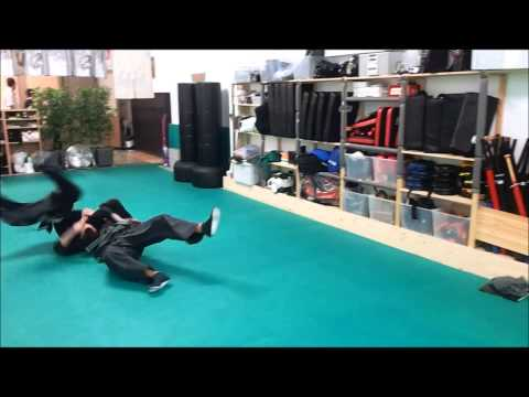Clase dic 2012 Artes marciales defensa personal Ninpo Jujutsu Genbukan Shinboku Dojo Spain