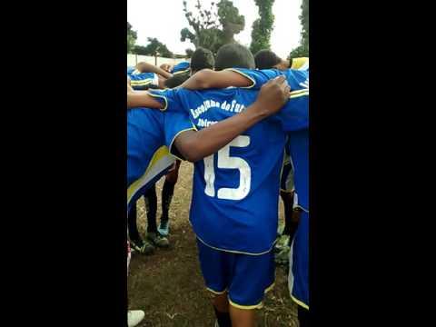 Oração antes do jogo em Ibirapuã