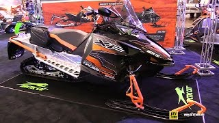 6. 2016 Arctic Cat XF Crosstrek 8000 137 Sled - Walkaround - 2015 Toronto Snowmobile & ATV Show