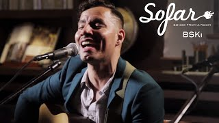 "BSKi performing ""Starbound"" at Sofar New York on June 6th, 2017. We put on more than 70 shows every month in New York, see ..."