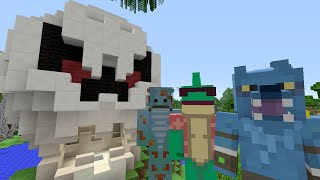 Minecraft Xbox Lets Play - Survival Madness Adventures - Behind The Scenes [193]