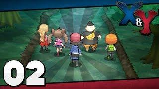Pokémon X and Y - Episode 2 | Santalune Forest!