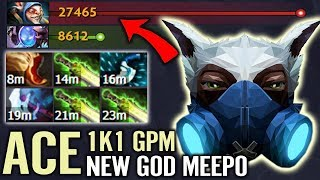 Video When You Realize There is no Build For Meepo - Ace Suggest This idea (3 Ghost Scepter LV 2) MP3, 3GP, MP4, WEBM, AVI, FLV Juni 2018