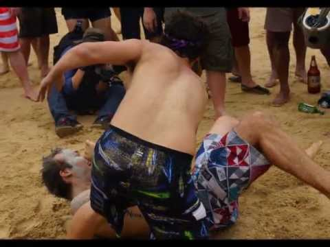 VIDEO: Wrestling at Boryeong Mud Festival