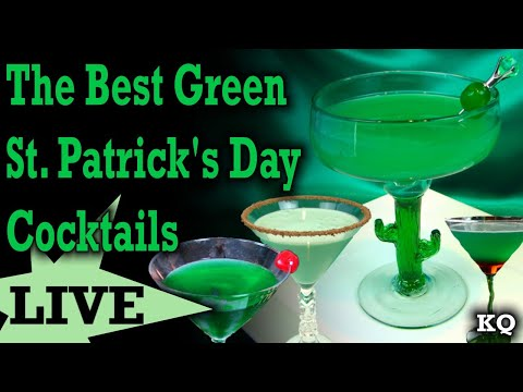 The Best Green St. Patrick's Day Cocktails