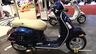 1. 2017 Vespa GTS 300 ie ABS Scooter - Walkaround - 2016 AIMEXpo Orlando