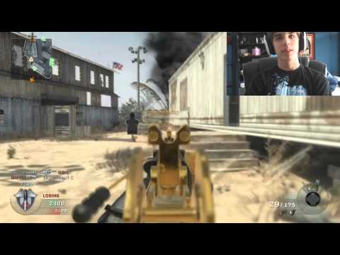 xJawz- Black Ops: Live Video Commentary! Gold Galil!