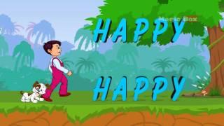 I  am Happy - English Nursery Rhymes -English Cartoon Nursery Rhymes