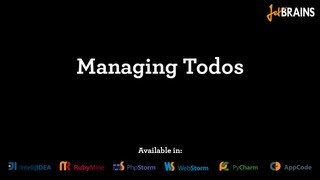 Managing TODOs