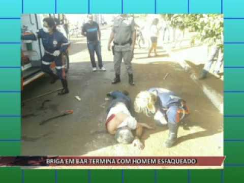 JATAÍ | Briga em bar termina com homem esfaqueado