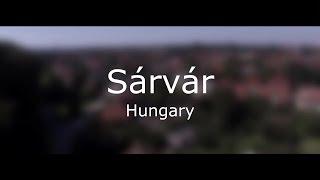 Sarvar Hungary  city photos gallery : Sárvár (Hungary) from the sky | FullHD