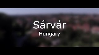 Sarvar Hungary  city pictures gallery : Sárvár (Hungary) from the sky | FullHD
