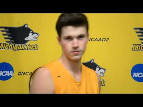 Postgame Interviews vs. Grand Valley 2-6-16