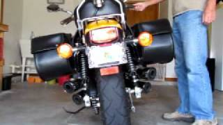 8. Honda Magna vf750c 1995  with modified Exhaust.