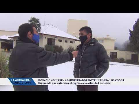 EL SECTOR ALOJAMIENTOS NECESITAN QUE LE PERMITAN TRABAJAR: VIDEO CON NOTA AL ADMINISTRADOR DEL HOTEL UTHGRA LOS COCOS