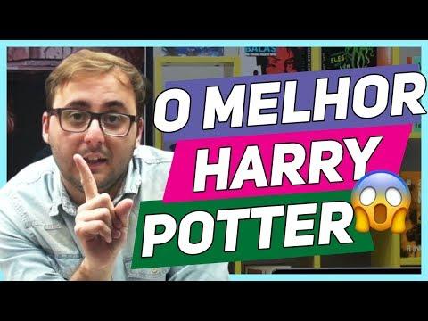 Qual o MELHOR LIVRO do Harry Potter? Do pior ao melhor! #SaliTv
