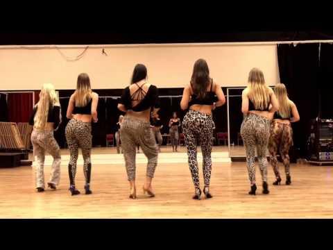 Hot swedish girls dancing Kizomba