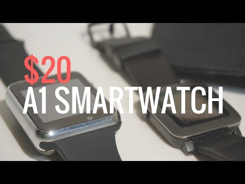 $20 A1 Smartwatch inspired by Apple Watch