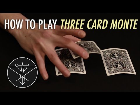 Scam - Support me on Patreon: https://www.patreon.com/rustycage Facebook: http://www.rustycagemusic.com This is how to play three card monte. Three card monte is a classic street hustle used to...