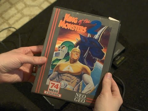 King of the Monsters 2 (Neo-Geo Video Game) James & Mike