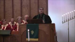 """Sermon: """"If You Want to Walk on Water, You Have to Get Out of the Boat!""""; Rev. Craig Wrigh"""